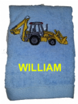 DIGGER PERSONALISED FACE CLOTH